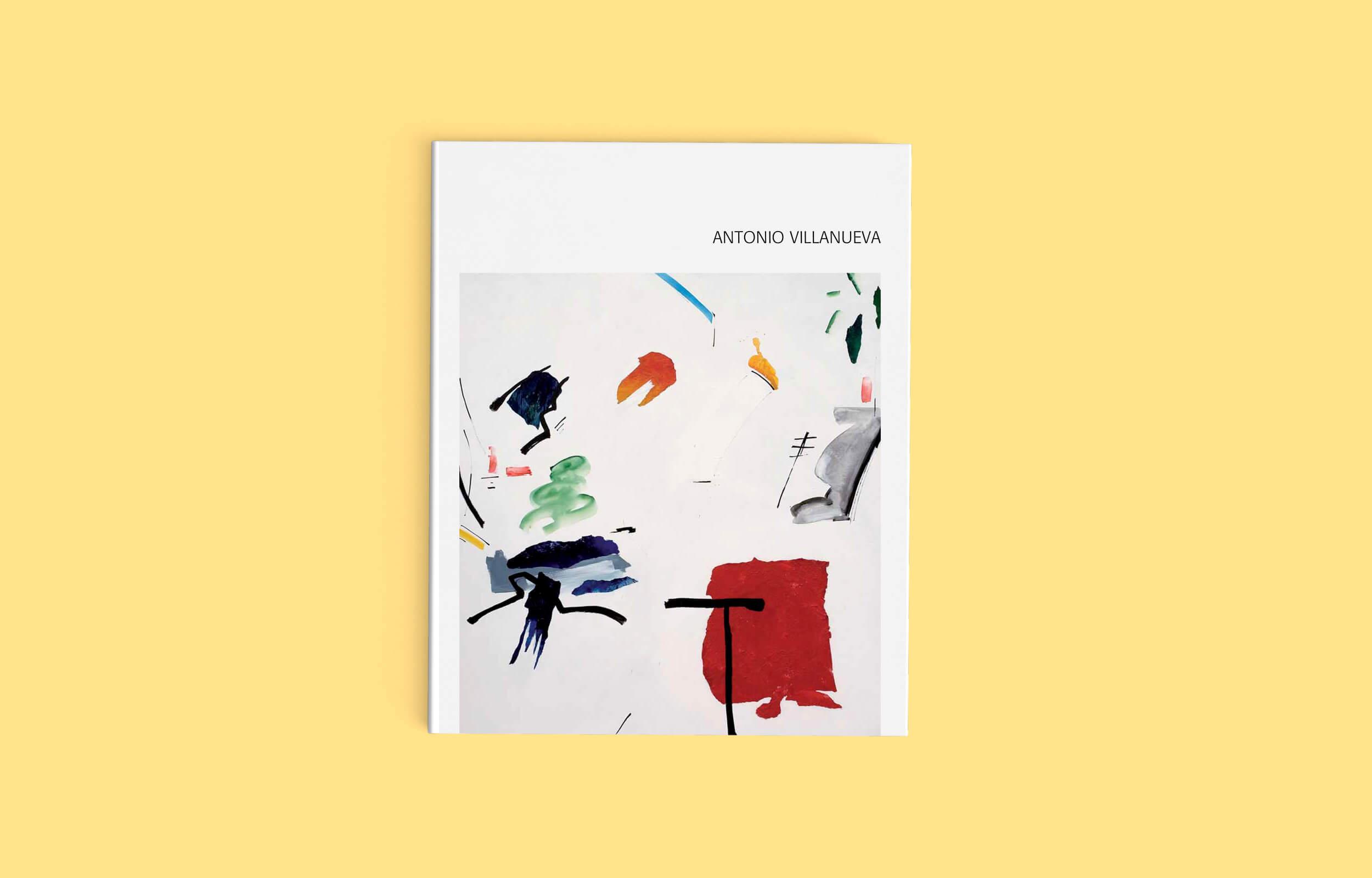 Diseño y maquetación del libro del artista Ibicenco Antonio Villanueva