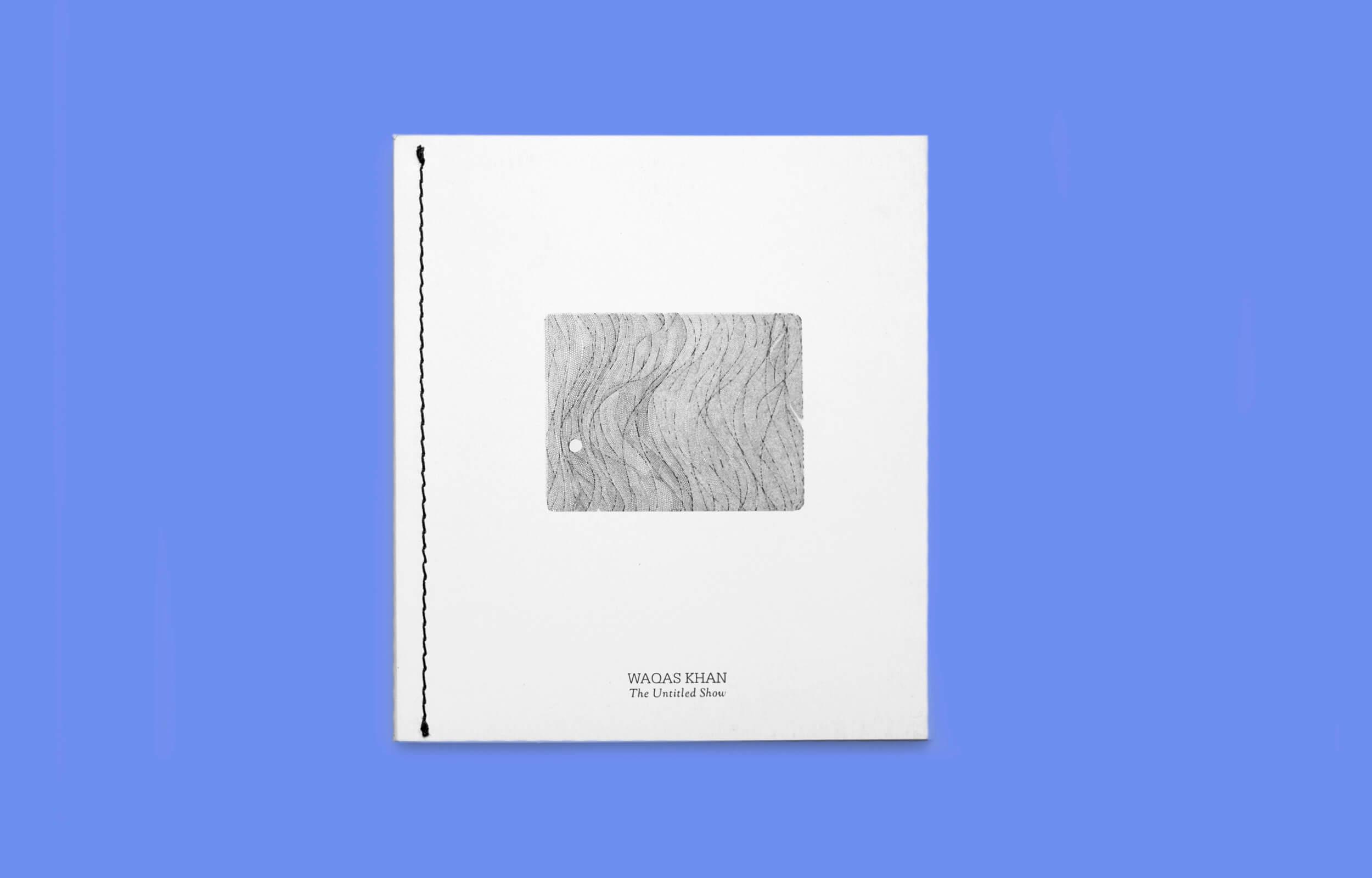 """Portada del libro """"The Untitled Show"""" del artista Pakistaní Waqas Khan"""