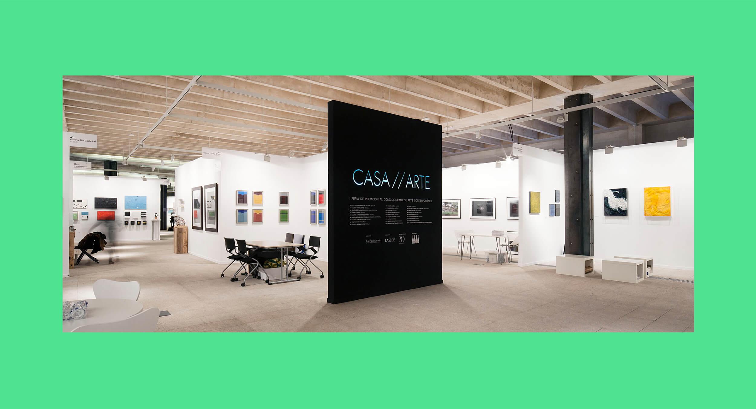 Coordinación general de la feria de arte contemporáneo Casa Arte, celebrada en el COAM