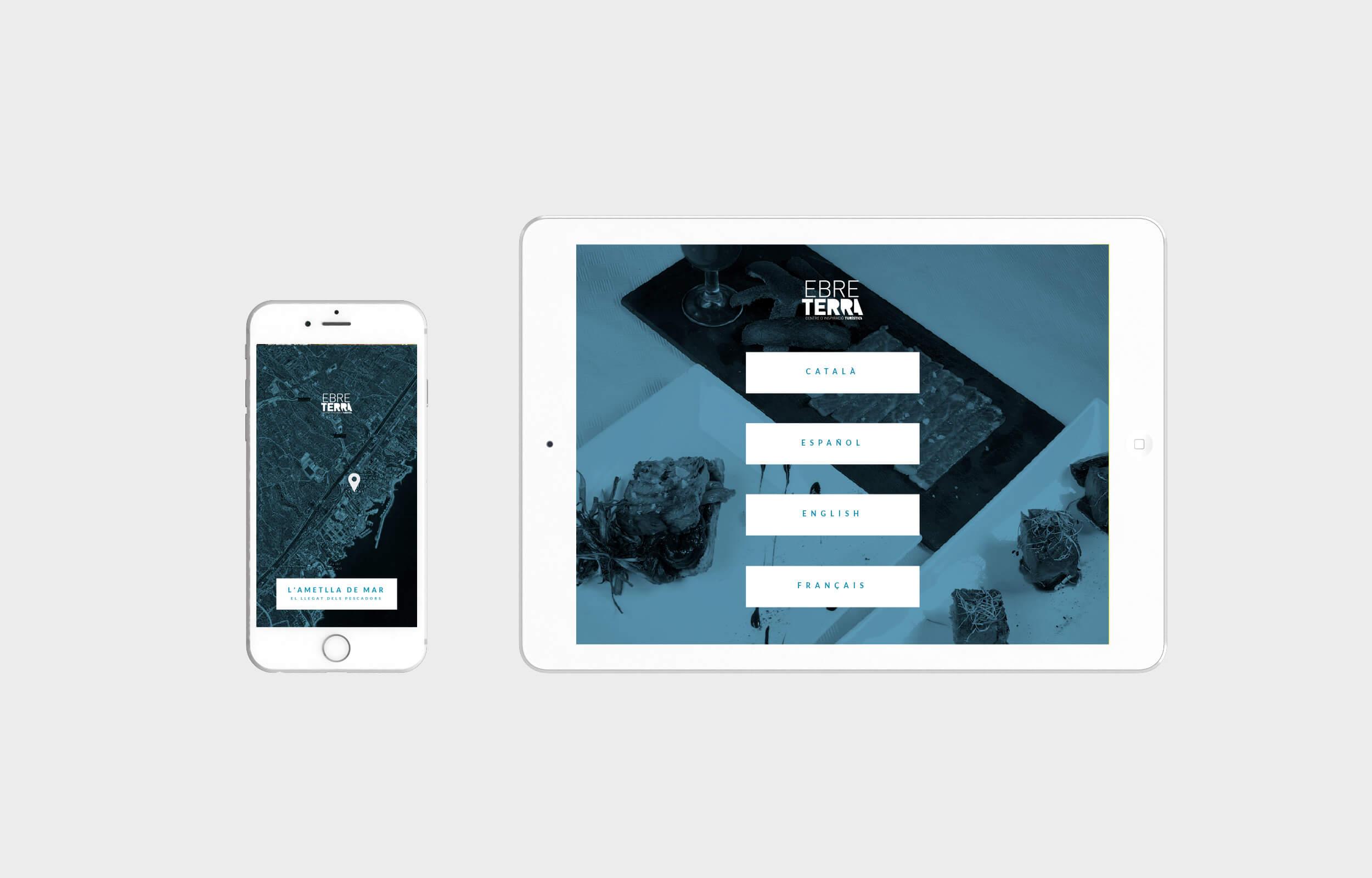 Diseño y programación de Apps y web para el Centre Ebre Terra